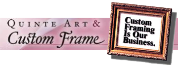 Quinte Art and Custom Frame